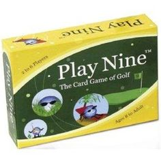 new Play Nine - The Card Game of Golf!