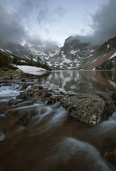 Lake Isabelle Sunrise - Indian Peaks Wilderness, Colorado