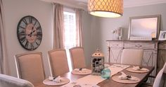 Shabby-Chic dining room by Gracious Spaces