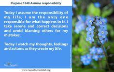 Purpose 1240 Assume responsibility
