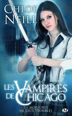 Couverture Les Vampires de Chicago, tome 05 : Morsures en eaux troubles