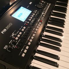 Korg with the PA300 arranger. It sounds great! #keyboard #music #korg