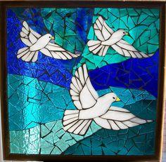 Three Doves - by JuLee Arts, via Flickr