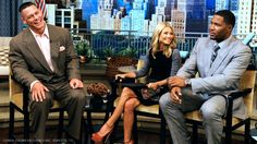 John Cena guest stars on 'Live with Kelly and Michael'!!! :)
