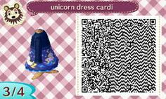 A dress with magical unicorns and stars, yay~