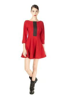 Blythe Double Wool Dress