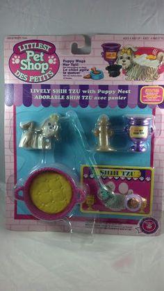 Kenner G1 Littlest Pet Shop Lively Shi tzu pet by PoniesAndPets, $75.00