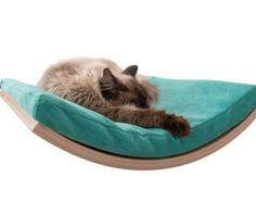 Cat bed wall mounted cat shelf cat furniture cats by CosyAndDozy