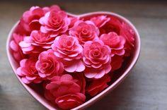 100 Pieces Birchwood Flowers Pink Flowers by jewelboxballerina