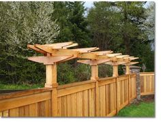 Our unique arbor designs will add beauty and style to your home's fences and decks.