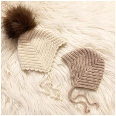 Rib djævlehue – loops of liberty Knitted Baby Clothes, Baby Hats Knitting, Baby Knitting Patterns, Crochet Patterns, Ribbed Crochet, Crochet Beanie, Newborn Crochet, Crochet Baby, Baby Bonnets