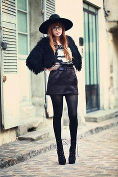 Longer skirt...witch...