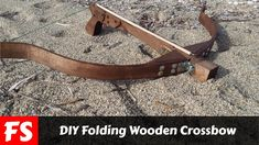 DIY Folding Wooden Crossbow (FS Woodworking)