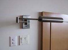 Image result for wall mount over bed reading lights