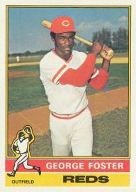 George Foster - Outfielder   AB 463  HR 23  RBI 78  BA .300  OBP .356  SLG .518  OPS . 875