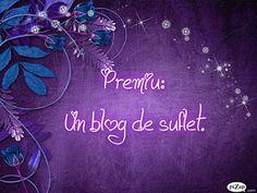 Premiu : un blog de suflet on http://miremirc.ro