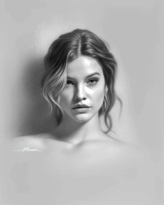Portrait Artworks by Musa Celik - Art Drawings Portrait Au Crayon, Pencil Portrait Drawing, Portrait Sketches, Portrait Paintings, Portrait Art, Colored Pencil Portrait, Drawing Portraits, How To Draw Portraits, Realistic Pencil Drawings