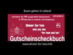 2 x Essen 1 x Zahlen - Essen gehen in Lübeck und Umgebung, Gutscheinbuch für Lübeck und Umgebung, viele tolle Restaurants.