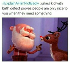 25 Christmas Memes - Quotes and Humor Funny Quotes, Funny Memes, Hilarious, Movie Memes, True Memes, Funny Love, The Funny, Funny Pics, Movie Plots Explained Badly