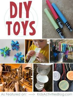 Homemade toys: From your recycle bin!