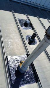 Article: Liquid Rubber Coating Ponoka To Industrial Metal Roof. Below you will find the process of installing a liquid rubber coating. Industrial Metal, Roof Repair, Metal Roof, Calgary, Shoe Rack, Victorian, Shoe Racks