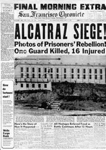 Image Search Results for alcatraz prison escape Newspaper Front Pages, Newspaper Article, Old Newspaper, Al Capone, Prison Escape, Front Page News, Federal Prison, Newspaper Headlines, History Facts