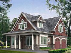 Garage Apartment Plan, 035G-0004  1
