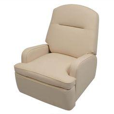 Frontier Swivel Recliner. Custom leather $620