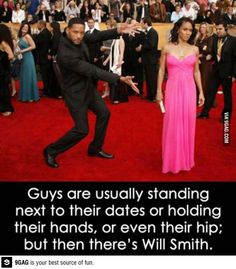 But then theres WIll Smith... that's actually really sweet if you think about it...