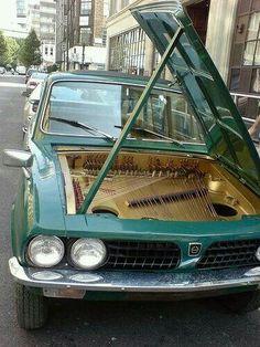 Grand Piano Car