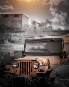 Jeep Discover CB Background For Picsart And Photoshop Free Stock Photos