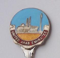 Collector Souvenir Spoon United Arab Emirates
