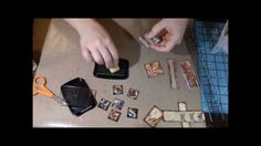 Tutorial - Tiles Using Your Scraps - EASY and Quick