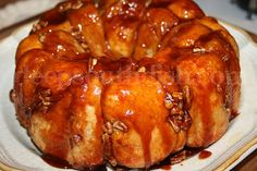 Butterscotch Pull Apart Bread