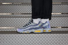 "Nike Air Max 95 Reflective ""Off Noir"" - Kicks Links Air Force 1 High, Nike Air Force, Nike Air Max, Air Max Sneakers, Sneakers Nike, Air Max 95, Men's Shoes, Kicks, Retail"
