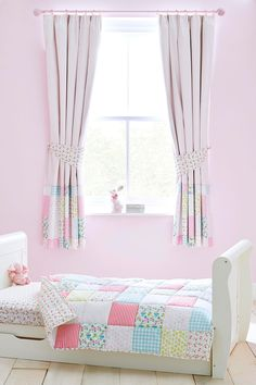 Buy Little Poppet Cotton Black Out Pencil Pleat Curtain From The Next UK Online Shop