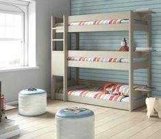 Trilitera, para cuando el espacio es muy reducido, aqui tienes la solución, tres camas en el espacio de una