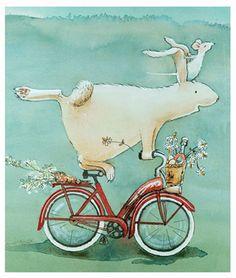 .el conejito ciclista