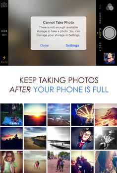 Do you burn through your phone's memory space from taking too many photos? If so, you absolutely have to see this! It's amazing! #LyveMoments