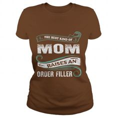 Order Filler mom - #tee outfit #sweater dress outfit. PRICE CUT => https://www.sunfrog.com/Names/Order-Filler-mom-Brown-Ladies.html?68278