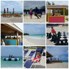 Carnival Cruise Lines Freeport Beach Excursion Collage