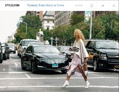 Credit : Tommy Ton for Style.com