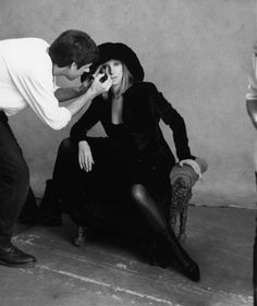 Young Barbra Streisand | Barbra Streisand Photoshoot 1997 by Steven Meisel, picture 3