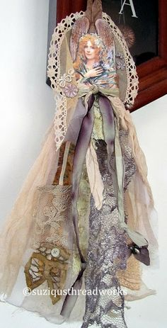 Suziqu's Threadworks: All Dressed Up and Somewhere to Go are My Fabric and Paper Dolls