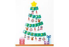 立体的なじゃばらを生かして作る壁面ツリー。存在感がありながらもシンプルな形で、オーナメントが引き立ちます。 Christmas Crafts, Christmas Decorations, Xmas, Holiday Decor, Paper Crafts, Diy Crafts, Opening Day, Creative Gifts, Preschool Activities