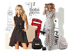 Bobii London Jet Setter by bobiilondon on Polyvore featuring Mikey and Piccadilly