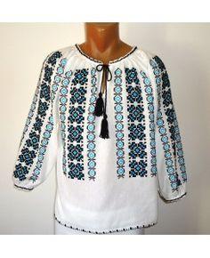 A Ie populara Costume, Blouse, Long Sleeve, Sleeves, Tops, Women, Fashion, Tricot, Moda