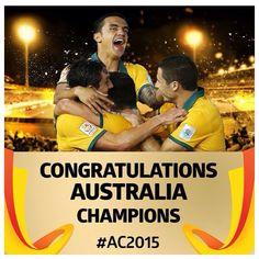 Australia Asian Cup Champions 2015