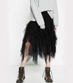 Zara Frilly Tulle Skirt