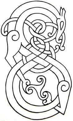 celtic dragon - Google Search